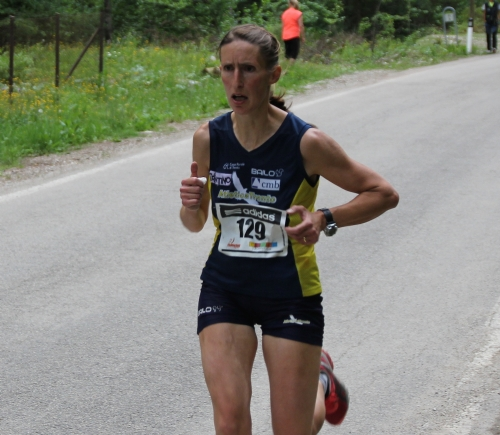 Tovel Running - Seconda tappa Christina Ricci